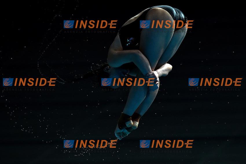 HE Zi CHN Silver Medal <br /> Day9 01/08/2015 Aquatics Center<br /> Diving - Tuffi / Women's Springboard 3m Final - Trampolino 3m Donne Finale <br /> XVI FINA World Championships Aquatics  <br /> Kazan Tatarstan RUS <br /> Photo Andrea Staccioli/Deepbluemedia/Insidefoto