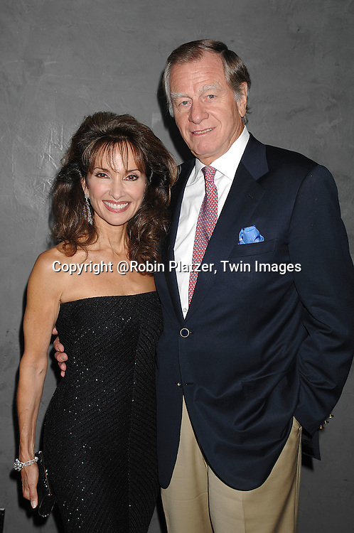 Susan Lucci and husband Helmet Huber..at The Surprise 70th Birthday Party for All My Children's star Susan Lucci's husband Helmet Huber on October 10, 2007 at The Rainbow Room ....Photo by Robin Platzer, Twin images....212-935-0770