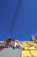 cantiere edile,mancanza di sicurezza sul lavoro