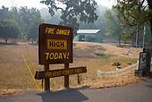 Mendocino, California<br /> September 20, 2020<br /> <br /> High smoke alert nearby wildfires close to Mendocino county.