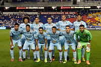 Harrison, NJ - Thursday Sept. 15, 2016: Alianza FC Starting Eleven prior to a CONCACAF Champions League match between the New York Red Bulls and Alianza FC at Red Bull Arena.