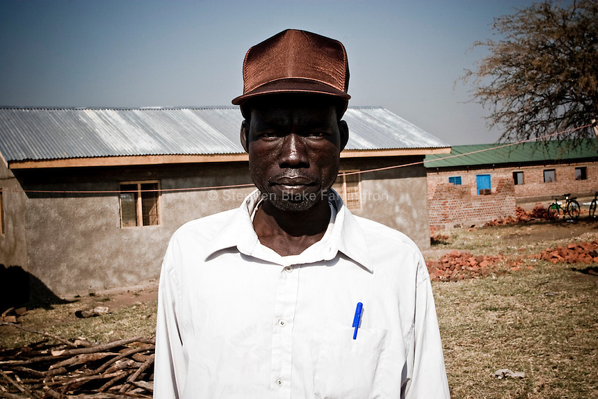 Africa, Sudan, Magwi County, Nimule, Southern Sudan - Military Chaplain for Sudanese People's Liberation Army. December 2005 © Stephen Blake Farrington