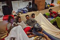 Italy 2016 Como. Africa migrants