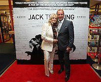 """Pictured: Singer Bonnie Tyler. Sunday 14 September 2014<br /> Re: Film premiere of """"Jack To A King"""" depicting the recent history pf Swansea City Football Club, at the Odeon Cinema, Swansea, south Wales, UK."""