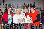Virgina Costello, Geraldine O'Sullivan, Catherine McGrath and Breda O'Sullivan at the Christmas fair in Moriarty's furniture Killorglin on Sunday