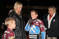 Lee Richardson Memorial Speedway Meeting at Arena Essex Raceway, Purfleet - 28/09/12 - MANDATORY CREDIT: Gavin Ellis/TGSPHOTO - Self billing applies where appropriate - 0845 094 6026 - contact@tgsphoto.co.uk - NO UNPAID USE.