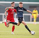 11.01.2020 Rangers v Lokomotiv Tashkent, Sevens Stadium, Dubai:<br /> Nathan Patterson