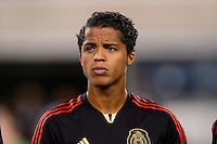 Mexico midfielder Giovani Dos Santos (10). Mexico defeated the Ivory Coast 4-1 during an international friendly at MetLife Stadium in East Rutherford, NJ, on August 14, 2013.