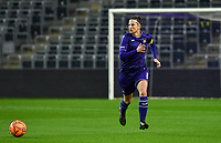 Anderlecht defender Laura De Neve (8) pictured during a female soccer game between RSC Anderlecht Dames and Northern Irish Linfield Ladies  in the first qualifying round for the Uefa Womens Champions League of the 2020 - 2021 season , Wednesday 4 th of November 2020  in ANDERLECHT , Belgium . PHOTO SPORTPIX.BE | SPP | DAVID CATRY