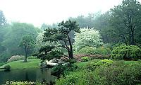 AC34-005c  Flower Garden - Japanese style garden