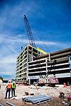 Construction sites in Austin, Texas.