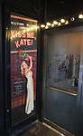 """Theatre Marquee for the Broadway Opening Night of """"Kiss Me, Kate""""  at Studio 54 on March 14, 2019 in New York City."""