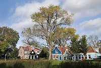Nederland  Amsterdam-  2020.   Amsterdam Noord. De Buiksloterdijk.    Foto : ANP/ HH / Berlinda van Dam