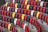 17th October 2020; Brentford Community Stadium, London, England; English Football League Championship Football, Brentford FC versus Coventry City; Empty seats inside Brentford Community Stadium