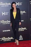 Angie Harmon @ the premiere of 'The Jungle Book' held @ El Capitan theatre.<br /> April 4, 2016