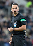 St Johnstone v St Mirren…27.10.18…   McDiarmid Park    SPFL<br />Referee Andrew Dallas<br />Picture by Graeme Hart. <br />Copyright Perthshire Picture Agency<br />Tel: 01738 623350  Mobile: 07990 594431