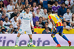 Gareth Bale of Real Madrid in action during their La Liga 2017-18 match between Real Madrid and Valencia CF at the Estadio Santiago Bernabeu on 27 August 2017 in Madrid, Spain. Photo by Diego Gonzalez / Power Sport Images