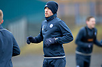 St Johnstone Training…30.03.18<br />David Wotherspoon pictured during training this morning at McDiarmid Park ahed of tomorrows game at Aberdeen<br />Picture by Graeme Hart.<br />Copyright Perthshire Picture Agency<br />Tel: 01738 623350  Mobile: 07990 594431