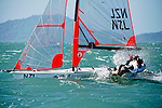 New Zealand	29er	Men	Crew	NZLNE2	Nick	Egnot Johnson<br /> New Zealand	29er	Men	Helm	NZLJK9	Jackson	Keon<br /> Day2, 2015 Youth Sailing World Championships,<br /> Langkawi, Malaysia