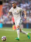 Karim Benzema of Real Madrid in action during their La Liga match between Real Madrid and Deportivo Alaves at the Santiago Bernabeu Stadium on 02 April 2017 in Madrid, Spain. Photo by Diego Gonzalez Souto / Power Sport Images
