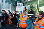 Junior doctors strike over new contract. University College Hospital, London.