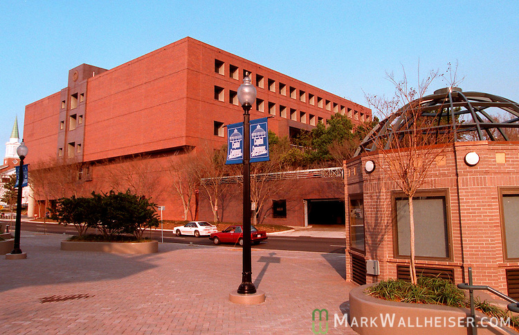 The back of City Hall from Kleman Plaza in Tallahassee., Florida.    (Mark Wallheiser/TallahasseeStock.com)