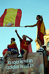 02.07.2012. Tour of Madrid of the Spanish football team to celebrate their victory in Euro 2012 july 2012.(ALTERPHOTOS/ARNEDO)