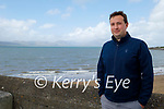 Councillor Mikey Sheehy pictured in Fenit on Saturday and is disgusted that Fenit wasn't included for funding in Irish Water's Small Town and Village Growth Scheme, which he says will stifle development when Greenway opens.
