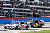 #20: Erik Jones, Joe Gibbs Racing, Toyota Camry Sport Clips, #24: William Byron, Hendrick Motorsports, Chevrolet Camaro Axalta