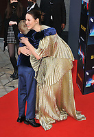 """Jude Hill and Caitriona Balfe at the 65th BFI London Film Festival """"Belfast"""" American Airlines gala, Royal Festival Hall, Belvedere Road, on Tuesday 12th October 2021, in London, England, UK. <br /> CAP/CAN<br /> ©CAN/Capital Pictures"""