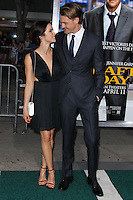 """WESTWOOD, LOS ANGELES, CA, USA - APRIL 07: Abigail Spencer, Josh Pence at the Los Angeles Premiere Of Summit Entertainment's """"Draft Day"""" held at the Regency Bruin Theatre on April 7, 2014 in Westwood, Los Angeles, California, United States. (Photo by Xavier Collin/Celebrity Monitor)"""