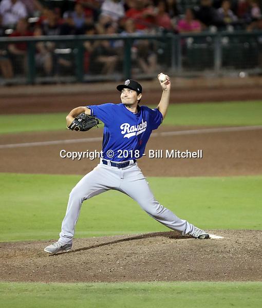 Michael Boyle - 2018 Rancho Cucamonga Quakes (Bill Mitchell)