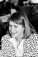 Montreal (Qc) CANADA - 1987 File Photo - - New Democratic Party (NDP) Convention  - Johanna den Hertog