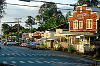 Historic Makawao Town In Upcountry