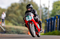 11th September 2021; Cookstown, County Tyrone, Northern Ireland, Cookstown 100 Road Races: Allen Gibson marked his 50 years of competitive road racing during the Cookstown races
