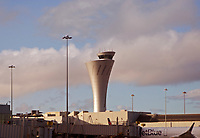 San Francisco International airport (SFO) control tower, San Francisco, California
