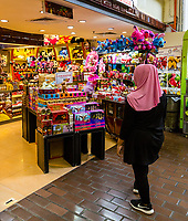 Central Market, Chocolates, Cookies, and Stuffed Animals for Sale, Kuala Lumpur, Malaysia.
