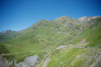The Pyrenees are ready for the riders<br /> <br /> stage 8: Pau - Bagnères-de-Luchon (184km)<br /> 103rd