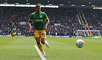 Preston North End's Lukas Nmecha<br /> <br /> Photographer Stephen White/CameraSport<br /> <br /> The EFL Sky Bet Championship - West Bromwich Albion v Preston North End - Saturday 13th April 2019 - The Hawthorns - West Bromwich<br /> <br /> World Copyright © 2019 CameraSport. All rights reserved. 43 Linden Ave. Countesthorpe. Leicester. England. LE8 5PG - Tel: +44 (0) 116 277 4147 - admin@camerasport.com - www.camerasport.com