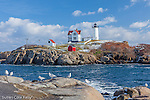 Cape Neddick (Nubble) Light, 1879, York, ME
