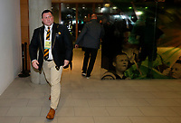 Photo: Richard Lane/Richard Lane Photography. Leinster Rugby v Wasps.  European Rugby Champions Cup Quarter Final. 01/04/2017. Wasps' DOR, Dai Young arrives at the stadium.