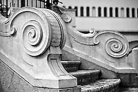 Benevento - Fontana in Piazza Orsini - particolare della fontana