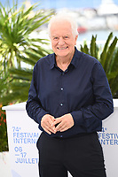 CANNES, FRANCE. July 8, 2021: Andre Dussollier at the photocall for Everything Went Fine at the 74th Festival de Cannes.<br /> Picture: Paul Smith / Featureflash