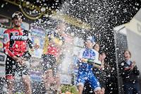 champaign shower at the 101th Ronde Van Vlaanderen 2017 (1.UWT)<br /> 1day race: Antwerp › Oudenaarde - BEL (260km)