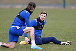 St Johnstone Training... 05.03.21<br />Liam Craig pictured during training alongside Stevie May at McDiarmid Park this morning...<br />Picture by Graeme Hart.<br />Copyright Perthshire Picture Agency<br />Tel: 01738 623350  Mobile: 07990 594431