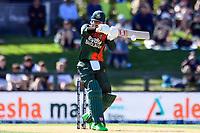 23rd March 2021; Christchurch, New Zealand;  Soumya Sarkar of Bangladesh during the 2nd ODI cricket match, Black Caps versus Bangladesh, Hagley Oval, Christchurch, New Zealand.