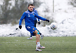 St Johnstone Training...   21.01.21<br />Callum Hendry pictured during training at McDiarmid Park ahead of Saturday's BetFred Cup semi-final against Hibs at Hampden.<br />Picture by Graeme Hart.<br />Copyright Perthshire Picture Agency<br />Tel: 01738 623350  Mobile: 07990 594431