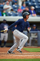 Cedar Rapids Kernels first baseman Jorge Fernandez (32) at bat during a game against the West Michigan Whitecaps on June 7, 2015 at Fifth Third Ballpark in Comstock Park, Michigan.  West Michigan defeated Cedar Rapids 6-2.  (Mike Janes/Four Seam Images)