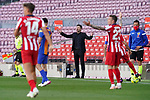 Atletico de Madrid's coach Diego Pablo Cholo Simeone during La Liga match. May 8, 2021. (ALTERPHOTOS/Acero)
