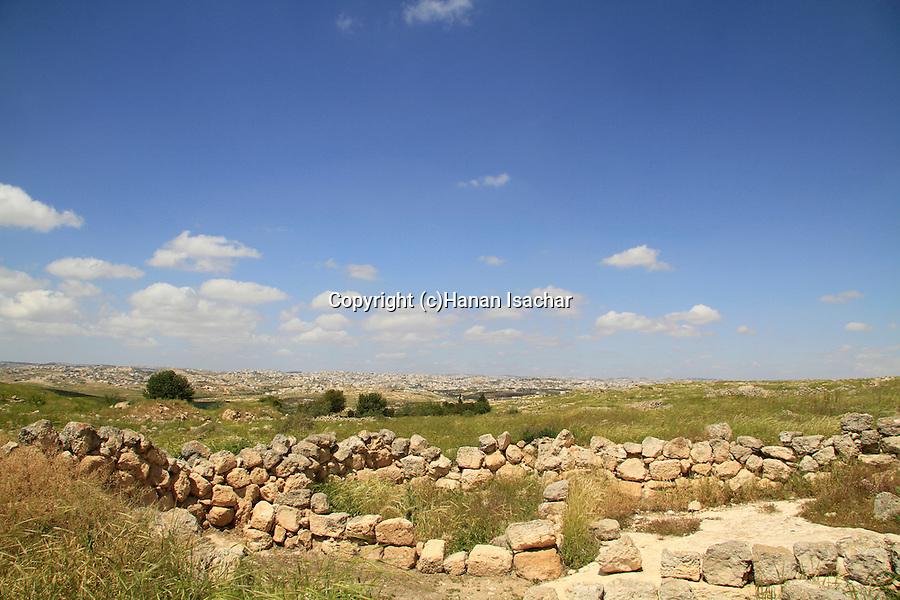 Southern Hebron Mountain, ruins of ancient Susya